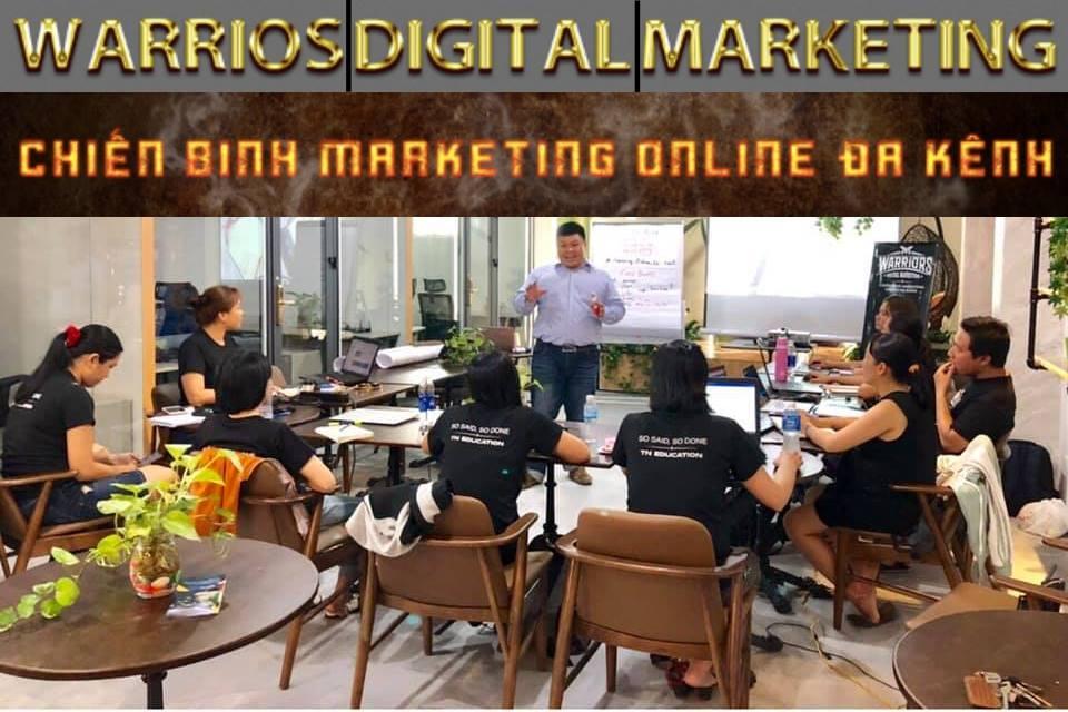 chiến binh marketing online đa kênh thực chiến