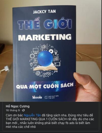 review sách marketing của tân nguyễn